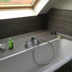 Roomy bath