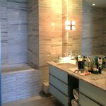 A small part of the huge master bathroom