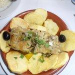 Bacalhau com Batata! Delicioso!