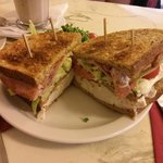 The Ariete Club Sandwich - Yum!