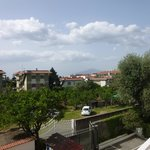View of Vesuvius from room