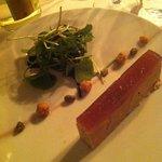 Foie gras et gelée de coing