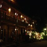 beautiful house at the restaurant.