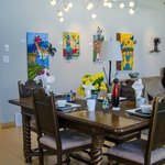 Dining room & art gallery space