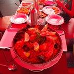 Paella pour 2, aussi délicieuse qu' appétissante !!!