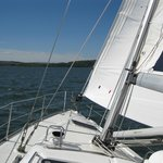 Sailing on the Firth of the Forth