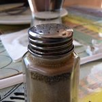 Dirty pepper shaker