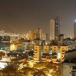 Caracas skyline from Hotel Alex