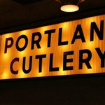 The Old Portland Cutlery Sign