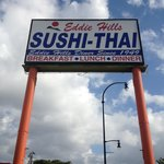 Eddie Hills' Sushi-Thai w/wide assorted menu