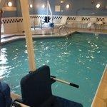 tiny pool.  8x15