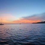 Enjoy magnificent sunsets