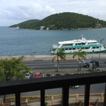 View from my room at Windward Passage