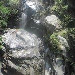 town waterfall