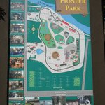 The map of Pioneer Park