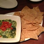 Spinach Dip with Tortilla Chips
