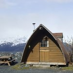 one of the cabins offered