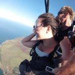 Skydiving over Kauai