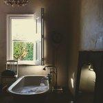 Running a morning bath - heavenly!