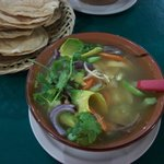 Traditional Mexican Soup----delicious!