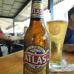 Yes, have to have that cold Atlas Cerveza!