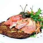 Salmon Rosti