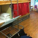 Under bed lockable storage