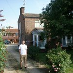 In front of the Bramley guest house.