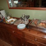 Ein Teil des Frühstück-Buffets, lecker