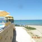 jedno z dojsc na cudowna plaze