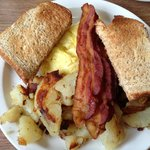 Eggs bacon and to die for home froes