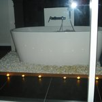 Salle de bain vitrée