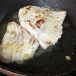 Searing the Turbot