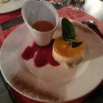 bavarois fraise abricot