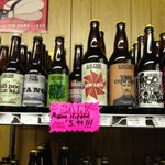 An example of a portion of a shelf (Evil Twin Brewing)