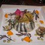 les fameux anchois au Saté......
