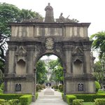 The original UST archway from Intramuros