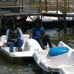 peddle boat