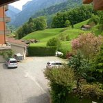 View from the second story of our chalet
