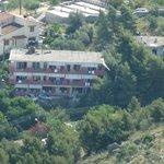 Hotel Vasilis from Palimidi