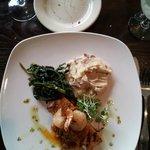 Amazing food from the Bob Timberlake Inn