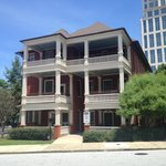 Outside of the Margaret Mitchell House