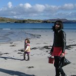One of the many beaches on Inishbofin