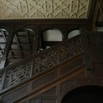 Looking up from the main Entrance to the 2nd & 3rd floors