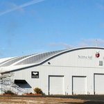 The building is named Hangar One