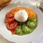 tomates burrata et pesto