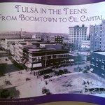 Tulsa in the 1900s exhibit