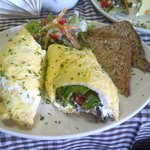 Cafe Bree Summer Omelette