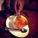 Hot Arabic tea