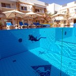 Camel Hotel, the swimming pool designed for divers